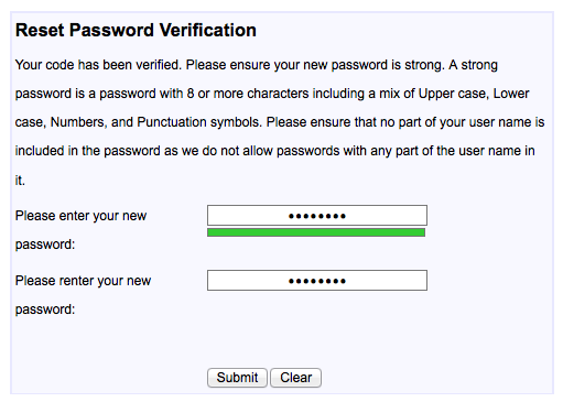 Here are step by step password reset instructions – Running